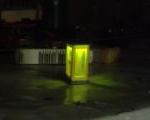 Cabina de telefon iluminata