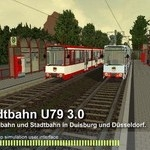 Activităţi tramvaie pe ruta Stadtbahn U79